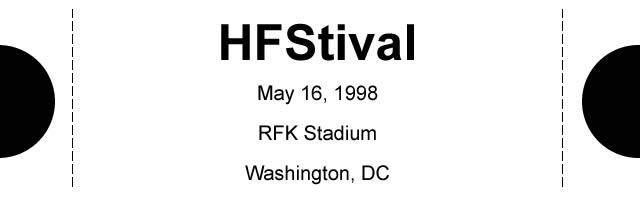 1998 HFStival